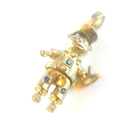 Gold Little Boy Charm