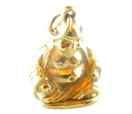 Gold Buddha Charm