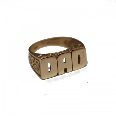 9ct DADS ring 7.2 £245 X
