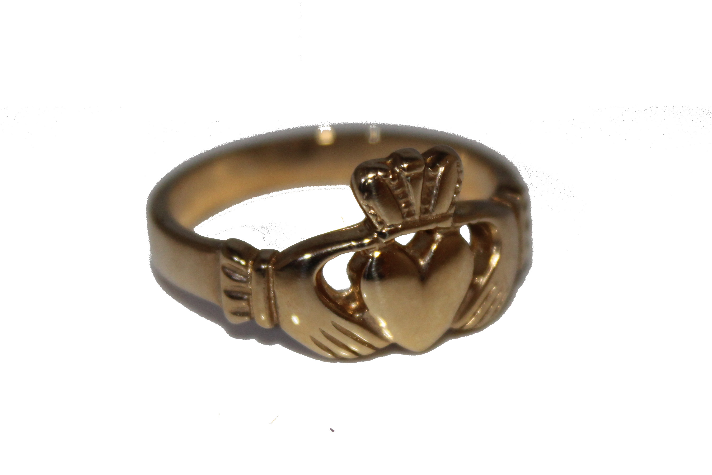 9ct Gents Ring Claddah £250 V 6.2