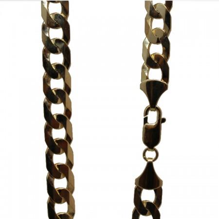 9ct Gold Curb chain 24 61g £1995