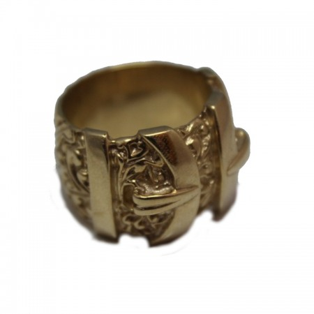 9ct buckle ring 32.1 £895 Z
