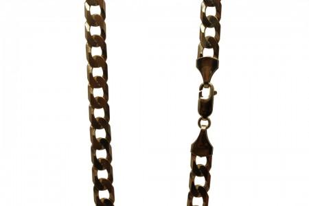 9ct curb chain 22 31.4g £950