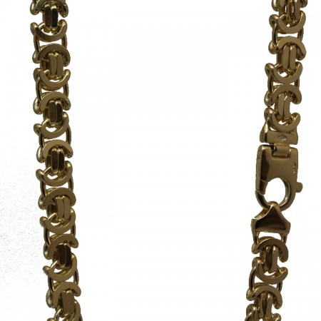 9ct gold byzantine chain 22 81.9g £2750