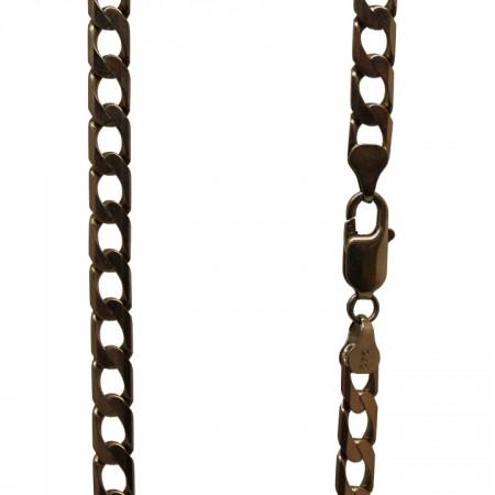 9ct gold curb chain 22 30.1g £795