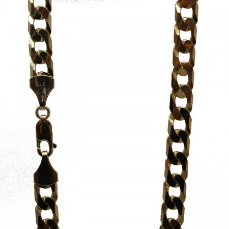 9ct gold curb chain 24 33.4g £1150